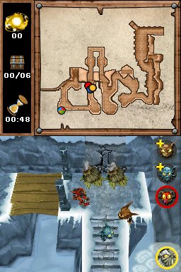 Screenshot for Overlord: Minions on Nintendo DS - on Nintendo Wii U, 3DS games review