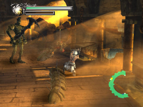 Screenshot for Rygar: The Battle of Argus on Wii - on Nintendo Wii U, 3DS games review