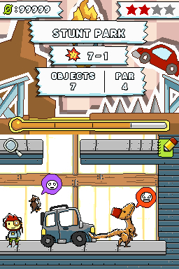 Screenshot for Scribblenauts on Nintendo DS - on Nintendo Wii U, 3DS games review