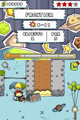 Screenshot for Scribblenauts on Nintendo DS- on Nintendo Wii U, 3DS games review