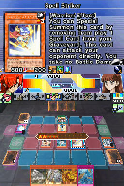 Screenshot for Yu-Gi-Oh! Stardust Accelerator: World Championship 2009 on Nintendo DS - on Nintendo Wii U, 3DS games review