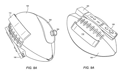 Image for Nintendo Football Controller Patent