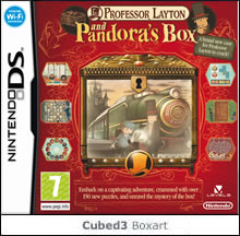 Box art for Professor Layton and Pandora's Box