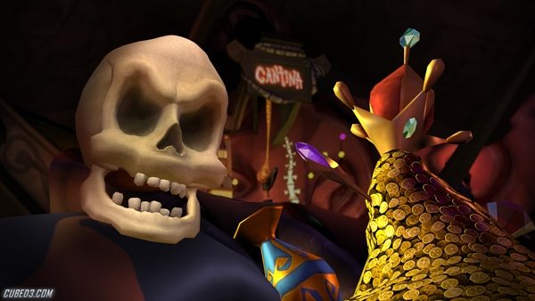 Screenshot for Tales of Monkey Island Chapter 3: Lair of the Leviathan on WiiWare - on Nintendo Wii U, 3DS games review