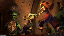 Screenshot for Tales of Monkey Island Chapter 4: The Trial and Execution of Guybrush Threepwood - click to enlarge