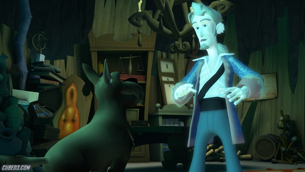 Screenshot for Tales of Monkey Island Chapter 5: Rise of the Pirate God on WiiWare - on Nintendo Wii U, 3DS games review