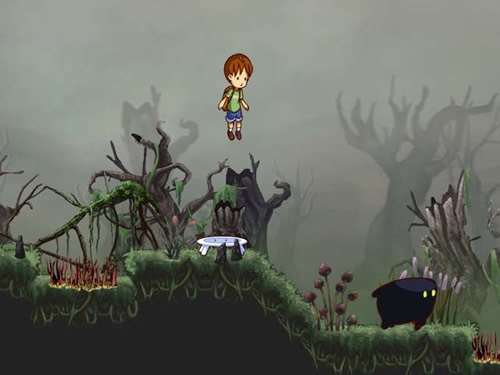 Screenshot for A Boy and his Blob on Wii - on Nintendo Wii U, 3DS games review