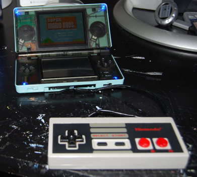 Image for NES Controller to DS Mod Detailed