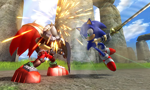 Screenshot for Sonic and the Black Knight on Wii - on Nintendo Wii U, 3DS games review