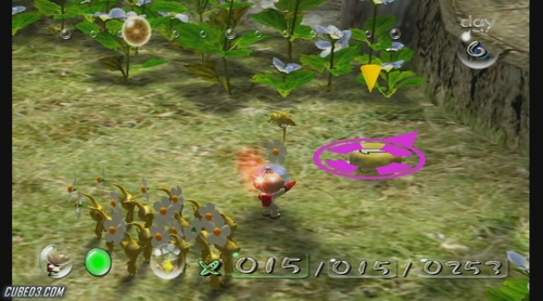 Screenshot for New Play Control! Pikmin on Wii - on Nintendo Wii U, 3DS games review