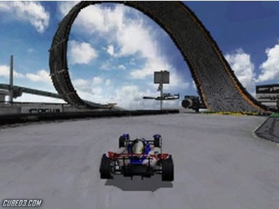 Screenshot for TrackMania DS on Nintendo DS - on Nintendo Wii U, 3DS games review