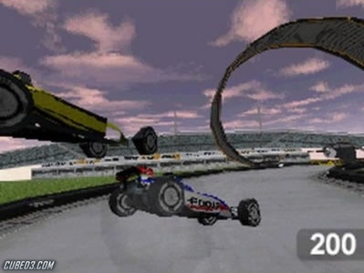 Screenshot for TrackMania DS on Nintendo DS- on Nintendo Wii U, 3DS games review