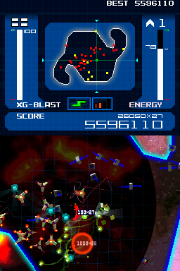Screenshot for XG Blast! on Nintendo DS