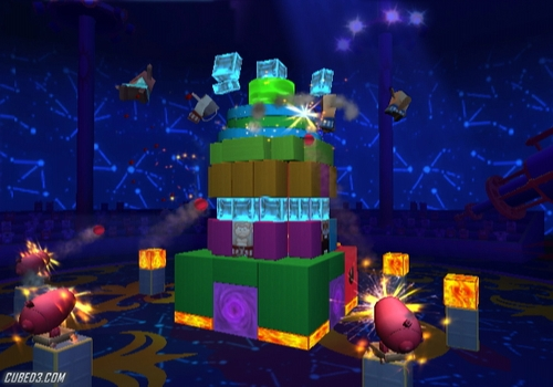 Screenshot for Boom Blox: Bash Party on Wii
