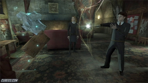Screenshot for Harry Potter and the Half-Blood Prince on Wii - on Nintendo Wii U, 3DS games review