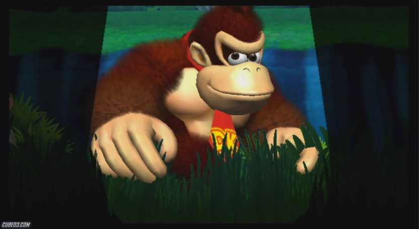 Screenshot for New Play Control! Donkey Kong: Jungle Beat on Wii - on Nintendo Wii U, 3DS games review