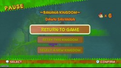 Screenshot for New Play Control! Donkey Kong: Jungle Beat - click to enlarge