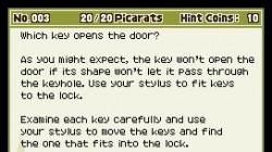 Screenshot for Professor Layton and Pandora