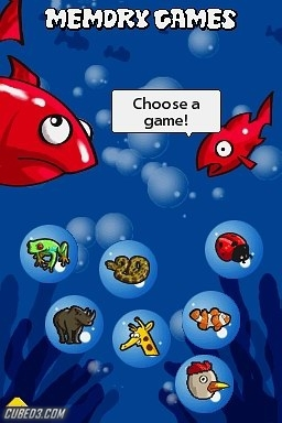 Screenshot for Junior Classic Games on Nintendo DS