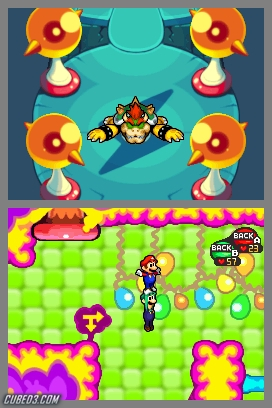 Screenshot for Mario & Luigi: Bowser's Inside Story on Nintendo DS - on Nintendo Wii U, 3DS games review