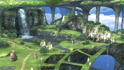 Screenshot for Xenoblade Chronicles on Wii