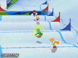 Screenshot for Mario & Sonic at the Winter Olympic Games on Nintendo DS - on Nintendo Wii U, 3DS games review