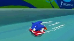 Screenshot for Mario & Sonic at the Winter Olympic Games - click to enlarge