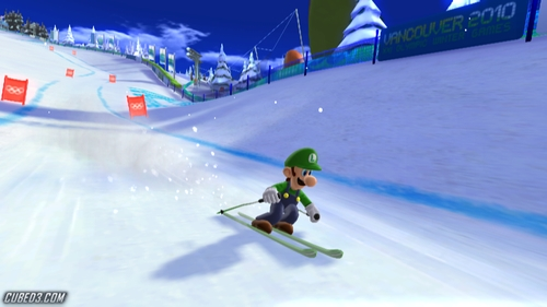 Screenshot for Mario & Sonic at the Winter Olympic Games on Wii - on Nintendo Wii U, 3DS games review