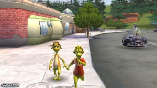 Screenshot for Planet 51 on Wii - on Nintendo Wii U, 3DS games review