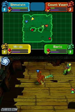 Screenshot for Spore Hero Arena on Nintendo DS - on Nintendo Wii U, 3DS games review