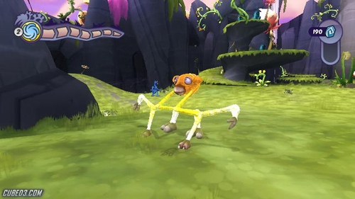Screenshot for Spore Hero (Hands-On) on Wii