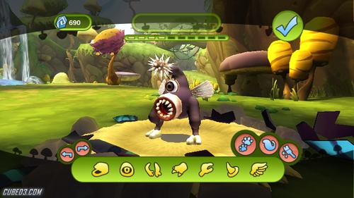 Screenshot for Spore Hero on Wii - on Nintendo Wii U, 3DS games review