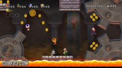 Screenshot for New Super Mario Bros. Wii - click to enlarge