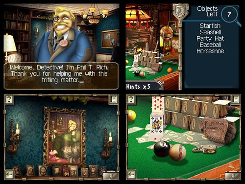 Screenshot for Mystery Case Files: MillionHeir on Nintendo DS - on Nintendo Wii U, 3DS games review