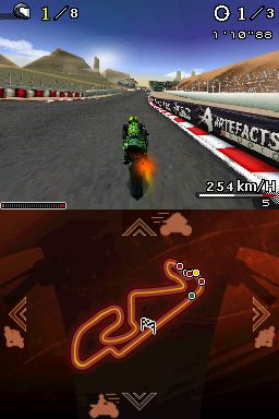 Screenshot for Moto Racer DS on Nintendo DS - on Nintendo Wii U, 3DS games review
