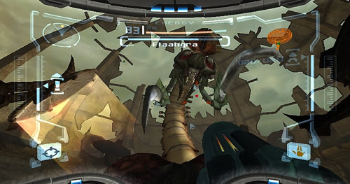 Screenshot for Metroid Prime Trilogy on Wii - on Nintendo Wii U, 3DS games review