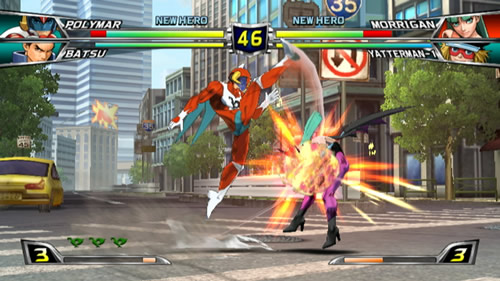 Screenshot for Tatsunoko vs. Capcom: Ultimate All-Stars on Wii - on Nintendo Wii U, 3DS games review