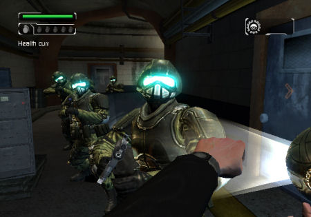 Screenshot for The Conduit on Wii