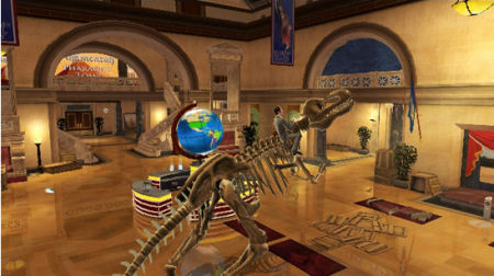 Screenshot for Night at the Museum 2 on Wii - on Nintendo Wii U, 3DS games review