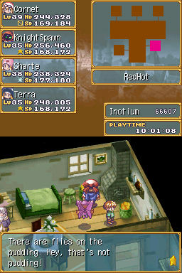 Screenshot for Rhapsody: A Musical Adventure on Nintendo DS - on Nintendo Wii U, 3DS games review