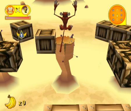 Screenshot for Manic Monkey Mayhem on WiiWare - on Nintendo Wii U, 3DS games review