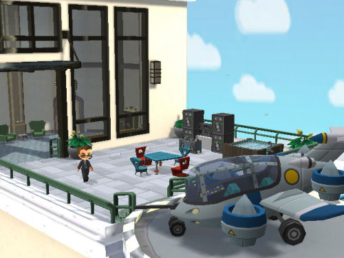 Screenshot for MySims Agents on Wii - on Nintendo Wii U, 3DS games review