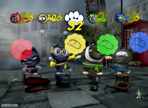 Screenshot for Ninja Captains on Wii