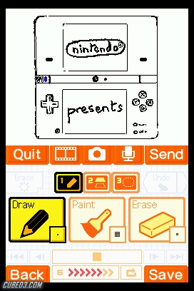 Screenshot for Flipnote Studio on DSiWare - on Nintendo Wii U, 3DS games review
