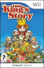 Box art for Little King's Story