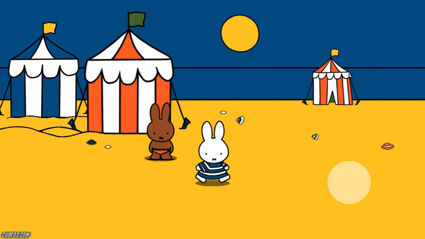 Screenshot for Miffy's World (Hands-On) on Wii