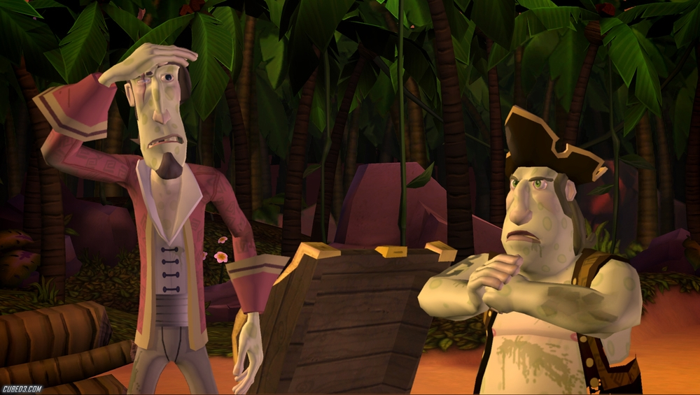 Screenshot for Tales of Monkey Island Chapter 2: The Siege of Spinner Cay on WiiWare - on Nintendo Wii U, 3DS games review