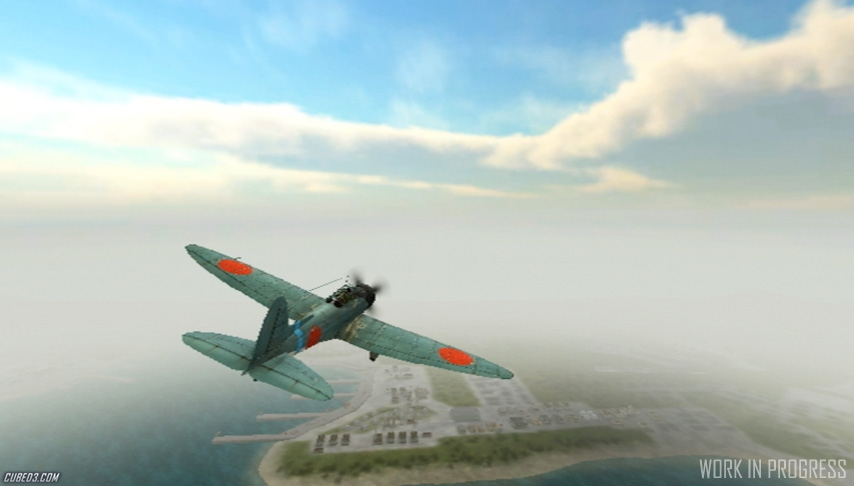 Screenshot for Pearl Harbor Trilogy 1941: Red Sun Rising on Wii