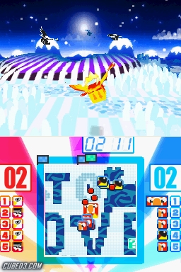 Screenshot for Pop Island (Hands-On) on Nintendo DS