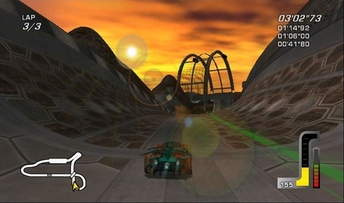 Screenshot for Wheelspin on Wii - on Nintendo Wii U, 3DS games review
